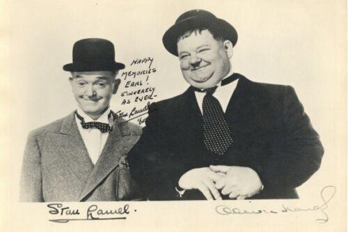 ++Dick +Autogramm+ Oliver Hardy-Stan Laurel Doof++4