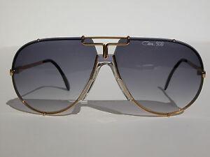 07e6192475d Cazal Vintage Sunglasses - NOS - Model 908 - Col. 354 - Gold ...