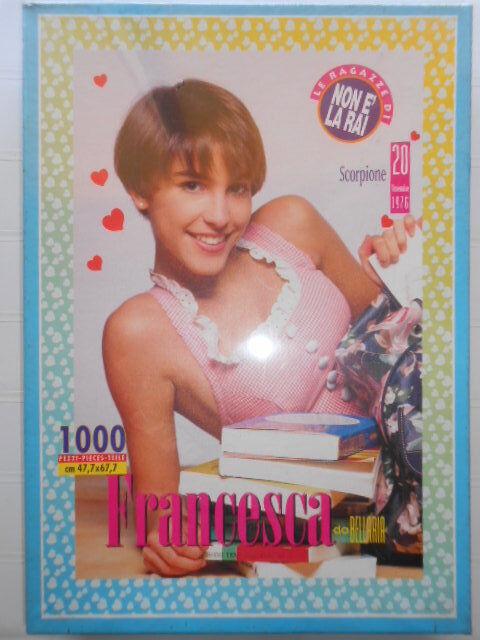 Puzzle Francesca Non è la Rai 1000 PZ Poster