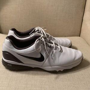Nike Golf Shoes,Men's Size 12-White