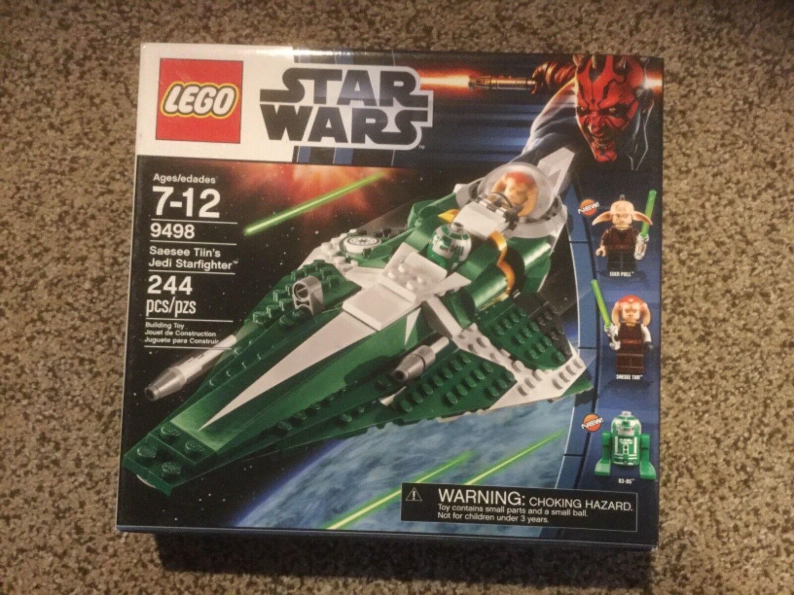 Neuf  dans sa boîte LEGO Star Wars T Tiin's Jedi Starfighter (9498)  2018 magasin