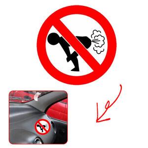 1x-Text-Word-12CM-12CM-Funny-Car-Sticker-Auto-Decoration-No-Farting-Body-Decal
