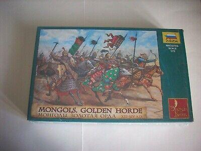 Zvedza Mongols Golden Horde - Mongoli Orda D'oro (13°/14° Sec.), Scala 1/72 Forma Elegante