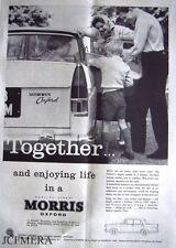 Morris 'OXFORD' 1960 Car ADVERT #6 - Original Magazine Print AD