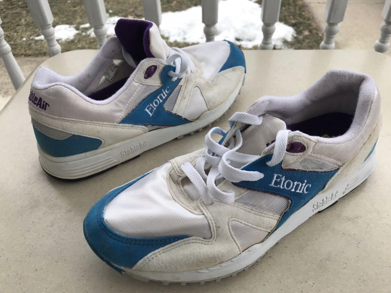 Vtg. ETONIC Stable Air US 10.5, UK 9.5 Running shoes Sneakers, 80's Korea