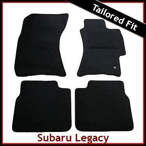 Subaru-Legacy-2003-2009-Tailored-Fitted-Carpet-Car-Floor-Mats-BLACK