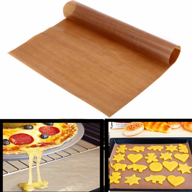 FT- Reusable Non Stick Liner Oven Microwave Grill Baking Mat Craft Sheet Pad Cle