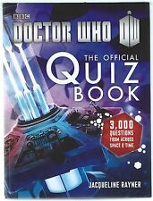 Doctor Who The Official Quiz Book Jacqueline Rayner BBC 2014 Hardback Good+