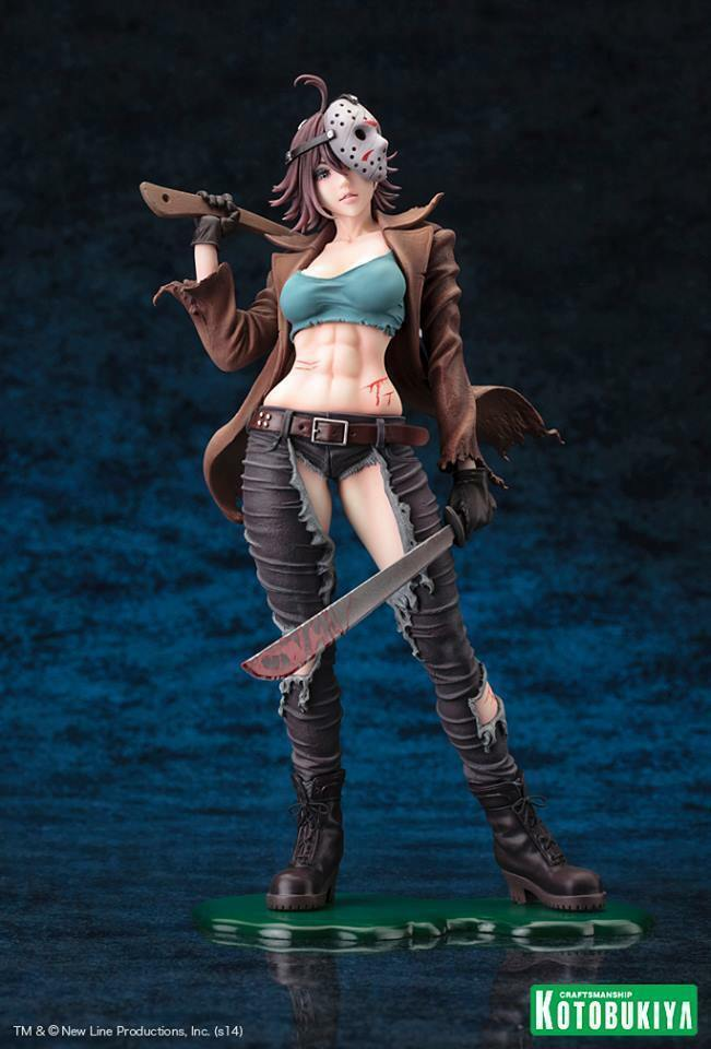 Friday13 - Jason Voorhees - Kotobukiya Bishoujo Figure - 2nd Edition - Original