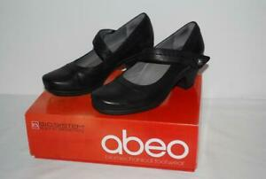 ABEO-Black-Leather-Pumps-High-Heel-Mary-Janes-Built-in-Orthodics-9-Rebeka