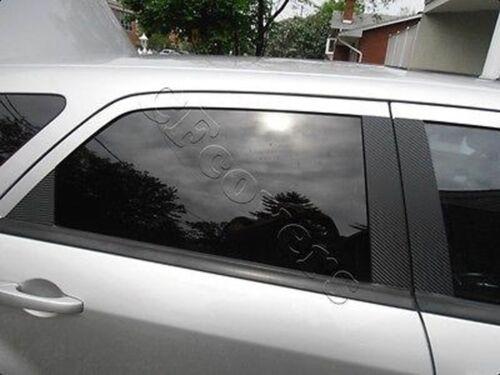 4dr 6pc Set Door Trim CARBON FIBER Di-Noc Pillar Posts for Honda Civic 06-11
