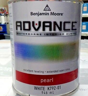 Benjamin Moore Advance Waterborne Interior Alkyd Cabinet Furniture Paint Ebay