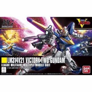 Spielzeug Bandai Hguc 1/144 Lm314v21 V2 Gundam Plastik Modellbau Set Mobile Suit V Gundam KöStlich Im Geschmack Action- & Spielfiguren