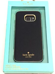 separation shoes 1ec0c 0a2ec Details about Kate Spade New York Wrap Case for Samsung Galaxy S7 Edge  KSSA-025-SBLK
