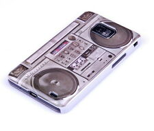 Hülle f Samsung Galaxy S2 plus + i9105P Tasche Case Schutzhülle Cover Radio Tape