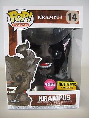 Exclusive Funko POP #14 floqué Krampus