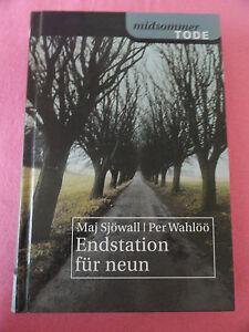 Endstation-fuer-neun-Maj-Sjoewall-Bitte-lesen-Sie-die-Buchbeschreibung