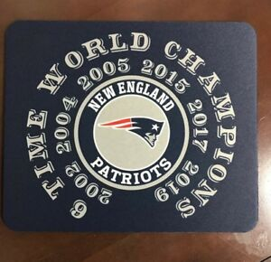New-England-Patriots-Mouse-Pad-Super-Bowl-NFL-Champions-Made-In-Michigan