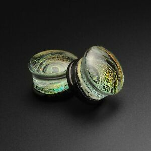 Into Galaxy Double Flared Plugs