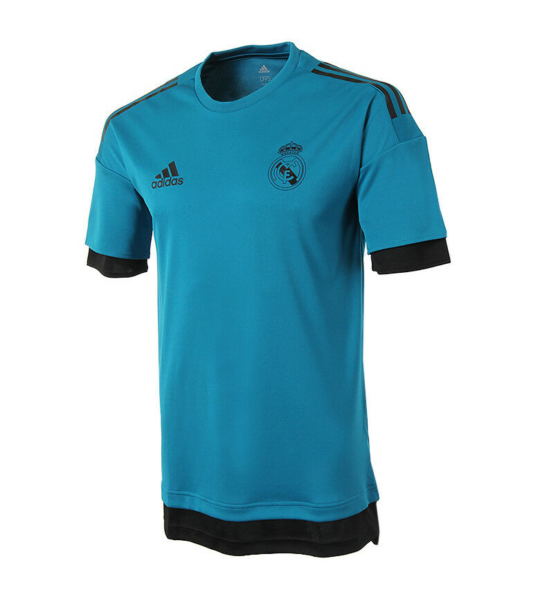 12c07ccb27a Adidas Real Madrid EU Training Jersey (BQ7840) Soccer Football T-Shirt Top  Tee