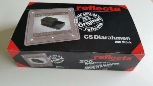 Reflecta CS 24MM X 36MM vidrios montajes de diapositivas 35MM Caja de 200