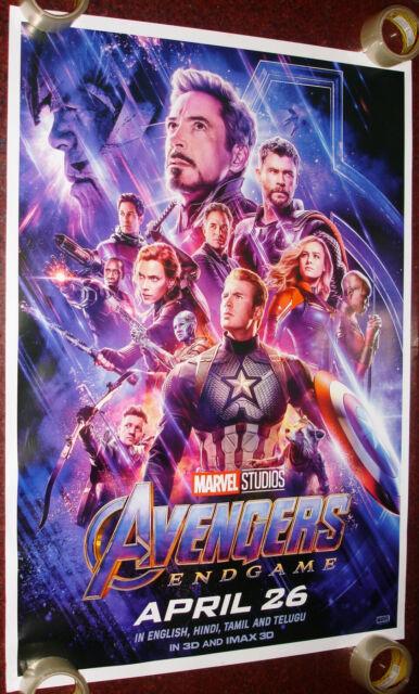 Avengers Endgame 3d Poster
