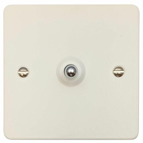 G/&h FW285 plat plaque Blanc Mat 1 Gang Intermédiaire Bascule Interrupteur De Lumière