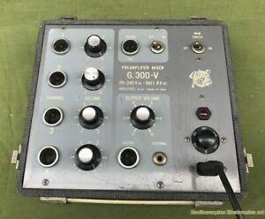 GELOSO G.300-V Preamplifier Mixer