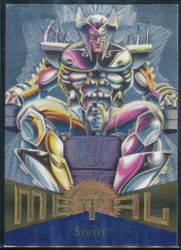 1995 Marvel Metal Silver Flasher Trading Card #121 Stryfe