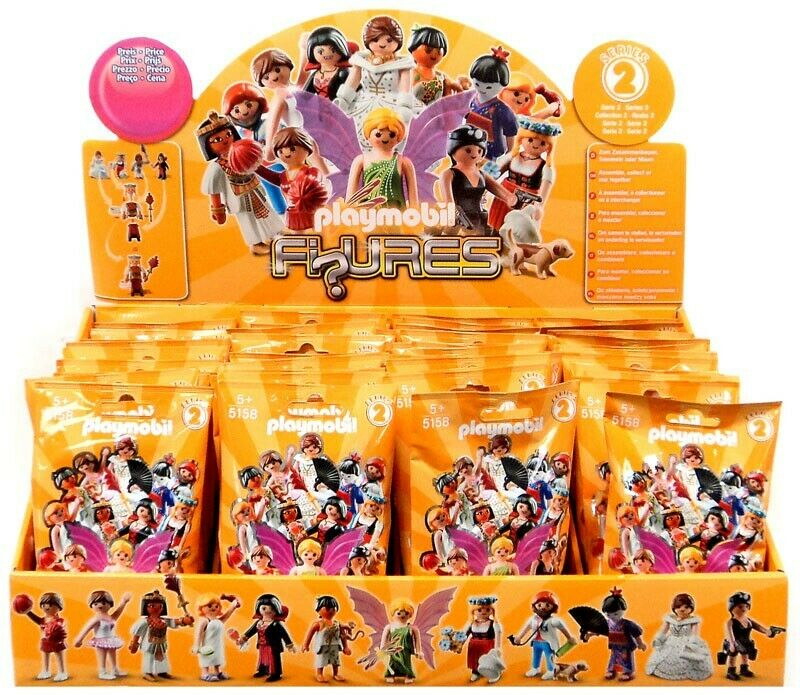 PLAYMOBIL  FIGURES SÉRIE 2 Orange Mystery Mini Blind Box  vente en ligne