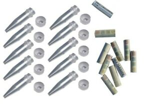 Geocaching-10-x-Nano-10-Logs-Set-Paket-Mini-Geocache-D5-Versteck-Globuli-Behaelt
