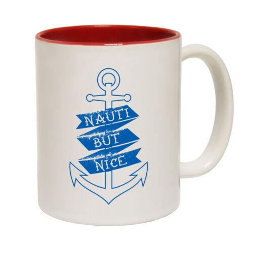 Sailing Mugs Ocean Bound Nauti But Nice Anchor Sail Funny Boat Ship Captain MUG