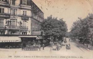 CPA-21-DIJON-L-039-AVENUE-DE-LA-GARE-ET-LA-GRANDE-TAVERNE
