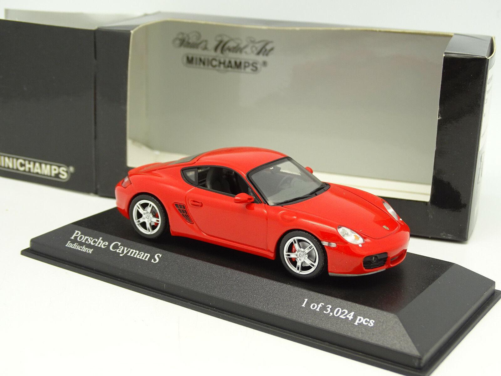 Minichamps 1 1 1 43 - Porsche Cayman S Red 3ef3af