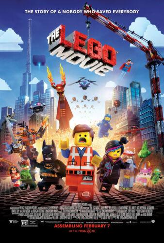 The Lego Movie 24x36 Movie Poster - Will Arnett 2014 Elizabeth Banks
