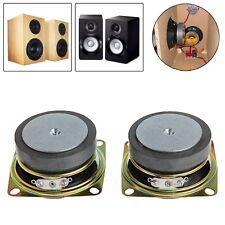 "2Pcs 2"" Inch 4 Ohm 3 W Speaker Full Range For Mini Stereo Speakers Accessory Box"