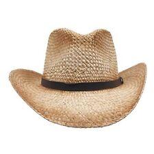 STROHHUT Western Cowboyhut Country Indianer Rodeo Herren Damen Square-Dance
