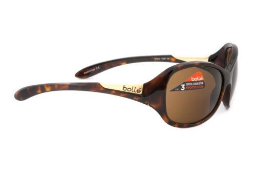 Italy AUTHORIZED DEALER Bolle Sunglasses Grace Shiny Tortoise TLB Dark 11647