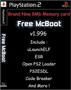 Details about Free mcboot fmcb 1 966 sony playstation 2 ps2 8 mb memory  card opl mc boot ps 2- show original title