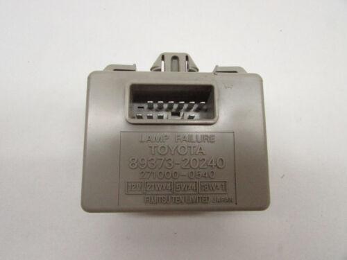 2002 LEXUS RX300 TAIL LAMP LIGHT FAILURE MODULE 89373-20240 OEM 99 00 01 02 03