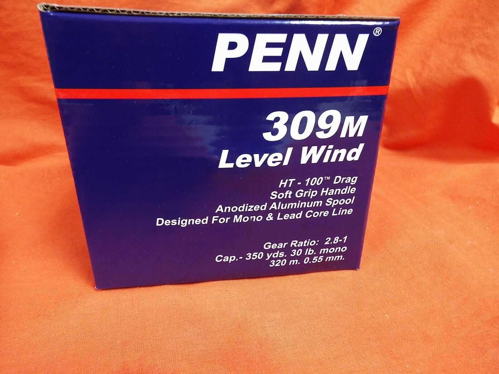 PENN 309M  LEVEL WIND GEAR RATIO 2.8 1 CONVENTIONAL REEL