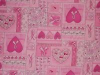 Breast Cancer Quilting Fabric, Timeless Treasures Fat Quarter, By The Yard