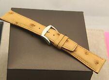 New Gucci 22 MM Ostrich Watch Band  - Reg (22.102R)