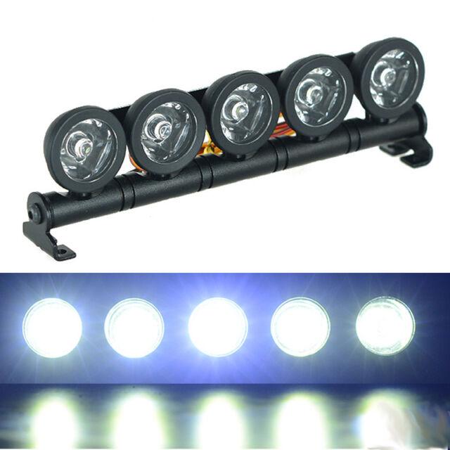 Alloy 5 Spotlight Rc Roof Mounted Led Light Bar For 1 10