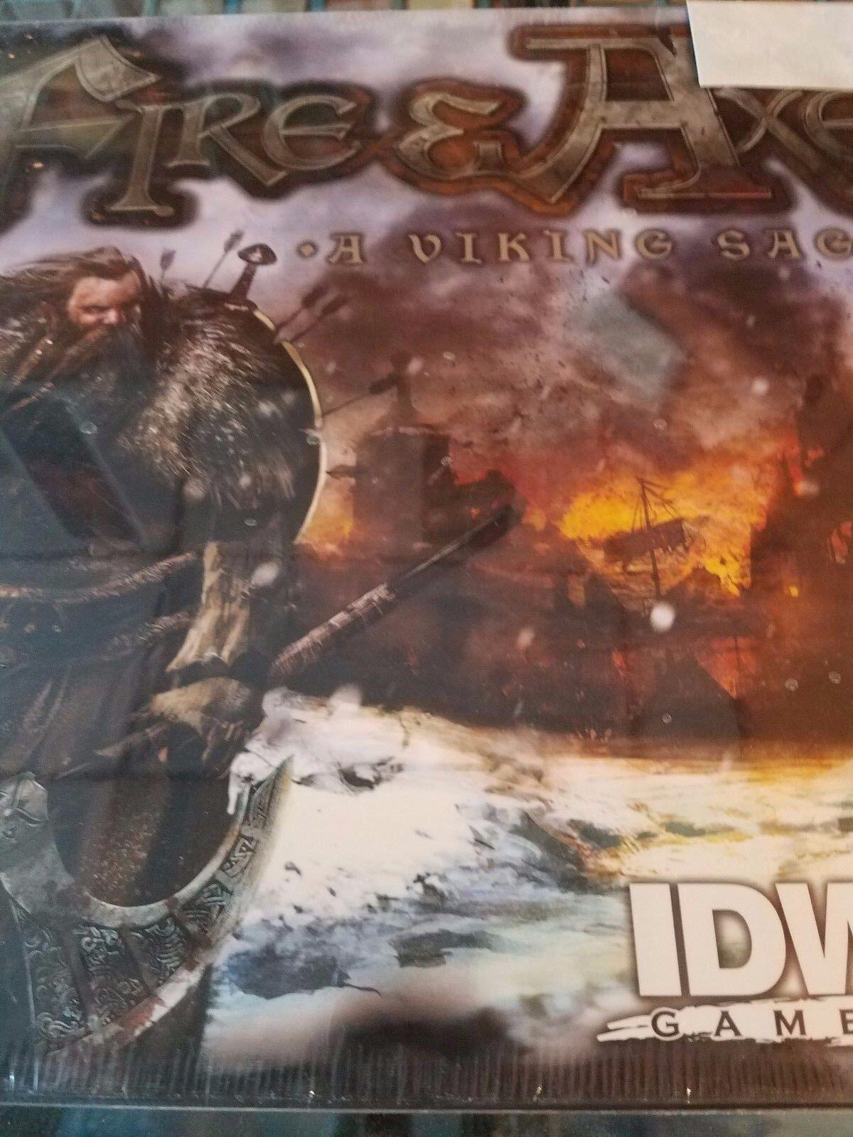 Fire & Axe - A Viking Saga - Board Game IDW Games New NIB