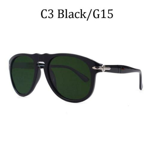 NEW Classic Celebrity Sunglasses Vintage Aviation Steve McQueen Style Polarized