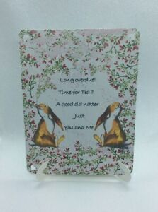 Here If You Need Me Easel Card Support Sentiment Gift Friend Family Comfort Sale