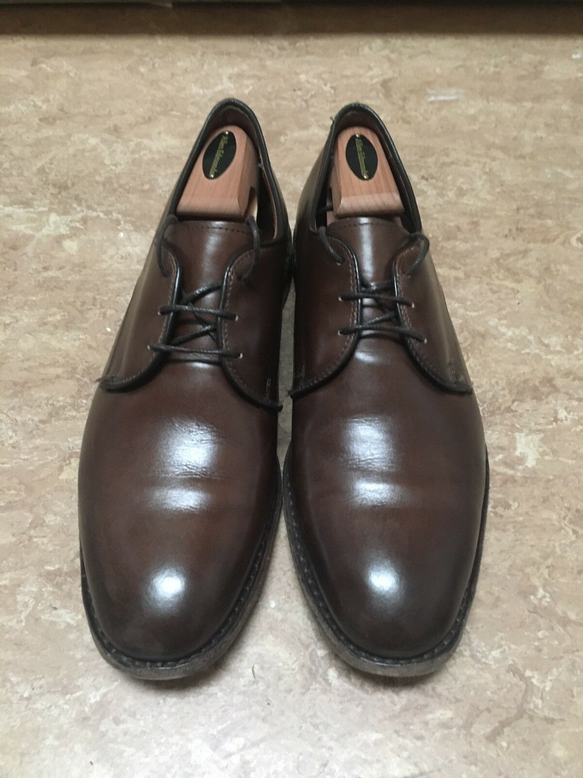 Kenilworth Allen Edmonds Dark Brown shoes 10D