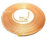 Copper Tubing 3/8 In. X 50 Ft. Refrigeration Hvac Tube Coil Ductless Mini Split