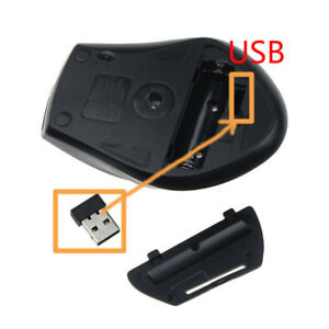 2-4G-Mini-Wireless-Optisch-Gaming-Maus-amp-USB-Empfaenger-PC-Laptop-Computer-Maeuse